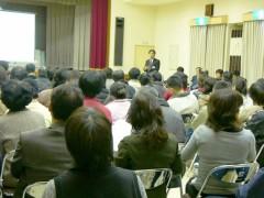 3月に行われたPTA説明会の様子