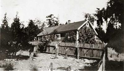 岡野家族が釣り船3隻を売却して手に入れた家屋と農場(1920年/大正9年1月)
