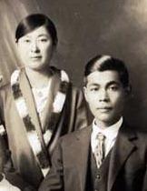 キミコ・カツヨリの新婚移民カップル