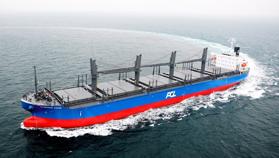 貨物船「グロリアス カウリ」