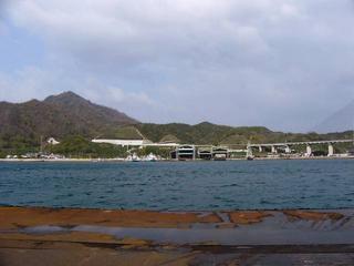 高速道路と結ばれる生口橋