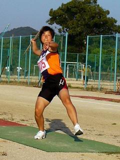 稲角舞選手