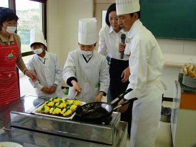 大浜小学校 思い出料理教室