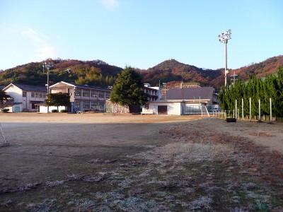 三庄中学校グラウンド
