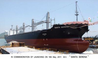 貨物船「サンタ セレナ」
