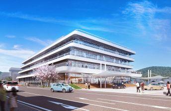 新本庁舎完成予想図