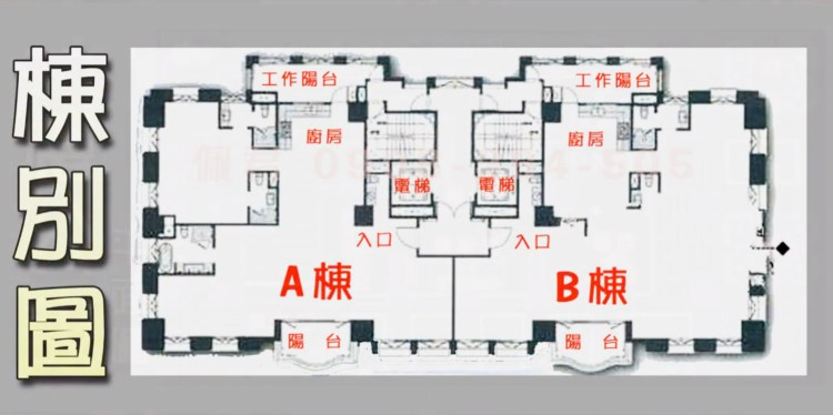 七期聯聚雍和社區 介紹 全區棟別圖 格局圖 佩君0908-364-505
