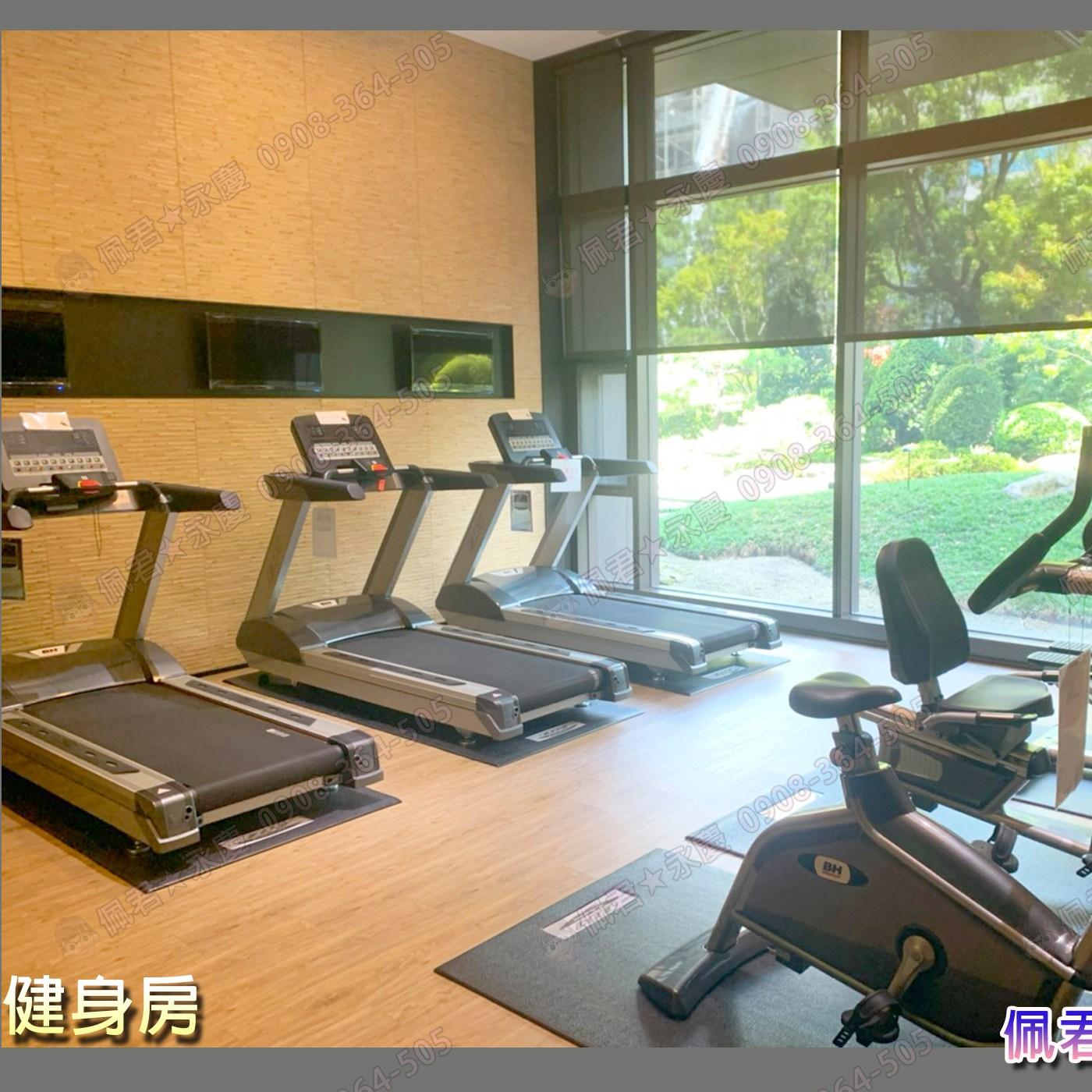 單元2惠宇大聚社區 介紹 公設介紹:健身房 佩君 0908-364-505
