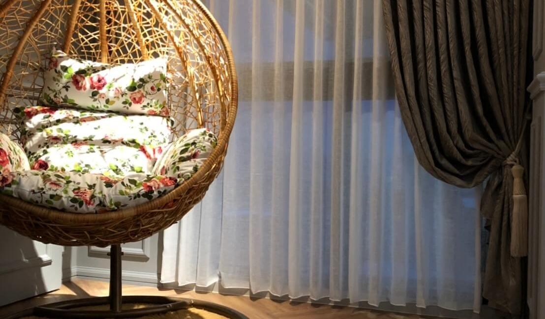 進口窗簾布/荷蘭coulisse木百葉/電動窗簾精選案例