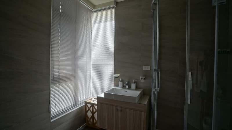 防水 鋁百葉 L型窗戶