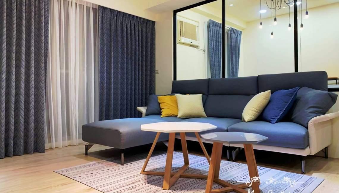 進口窗飾布 客廳窗簾