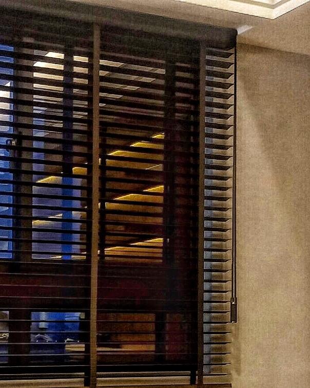 木百葉 光線調節 台中窗簾案例