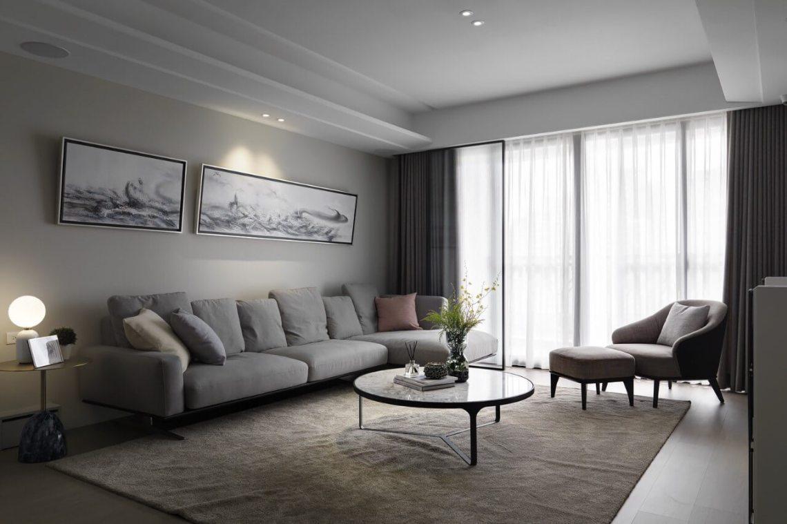 北歐風窗簾設計 新竹窗簾推薦案例