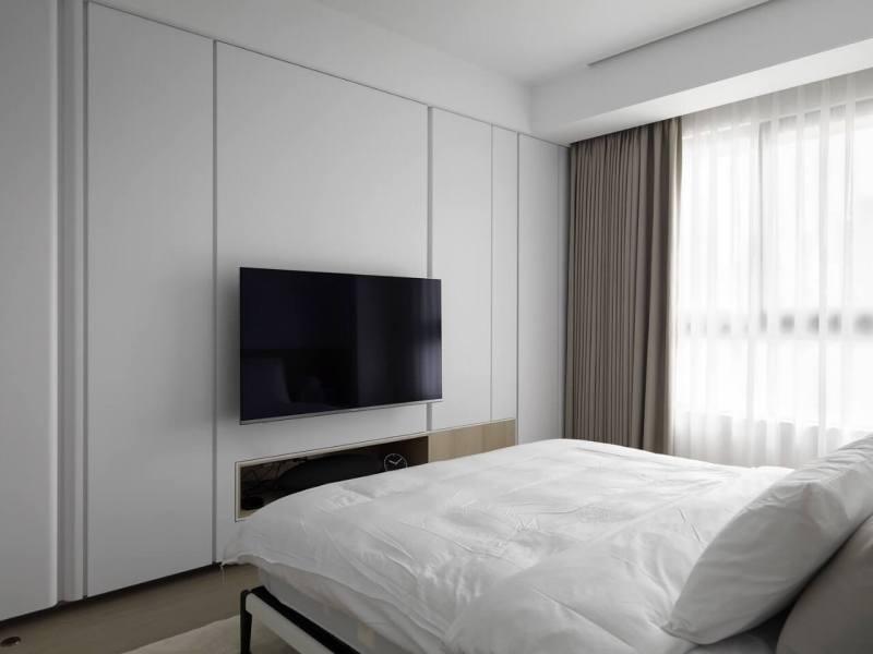 北歐風窗簾 進口紗簾 新竹窗簾案例