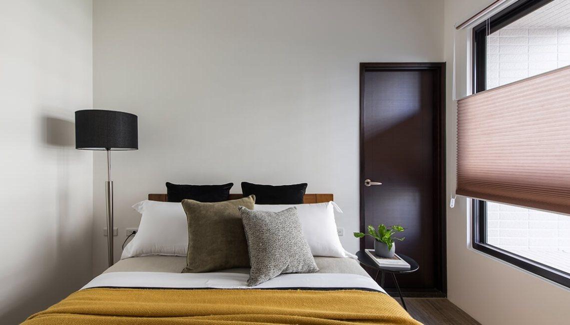 房間窗簾推薦 秋冬窗簾 HunterDouglas風琴簾