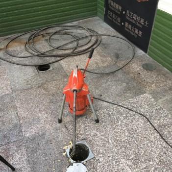 阿威通管行 總管分管水管冒水