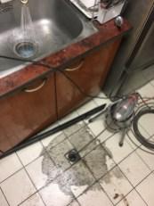阿威通管行 通廚房流理台水管堵塞