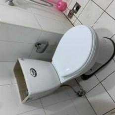 阿威通管行 馬桶安裝回定位