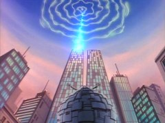 Shredder insists his stargate be built at the base of the Twin Towers