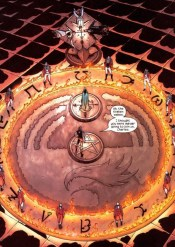 When Grant Morrison took over New X-Men for a number of graphic novels, he made the Hellfire's black magick phoenix cult more authentic, magickally speaking