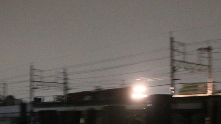 武蔵野南線 貨物列車 深夜