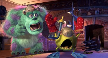 Monster's Inc Sully and MIke Boo