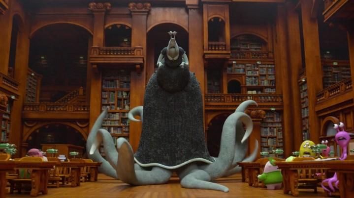 Monster's University LIbrarian