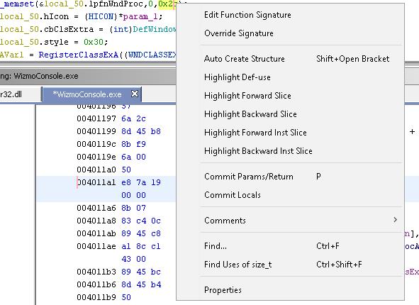 ghidra-decompiler-search-for-argument-menu | Shortjump!