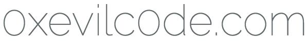 0xEvilC0de.com