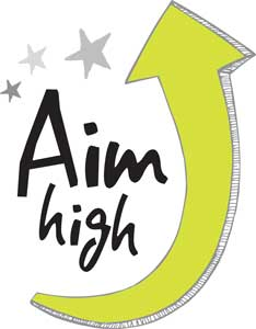 Image result for AIM HIGH clip art