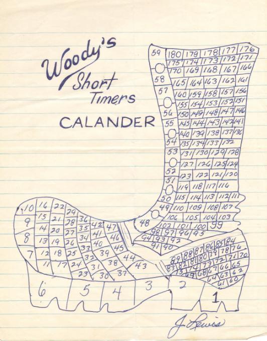 Develop Short Timers Calendar