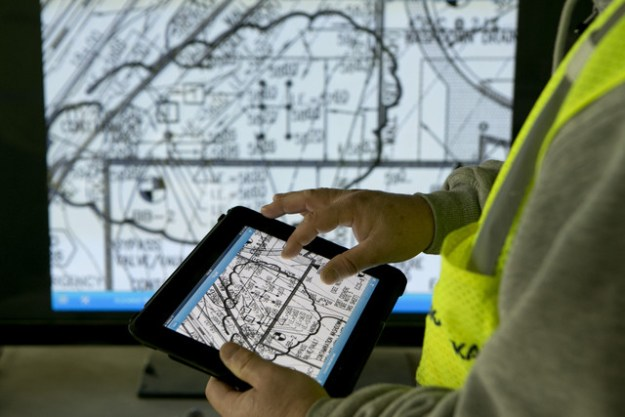 IPads Supplanting Blueprints Boosts Builder Productivity