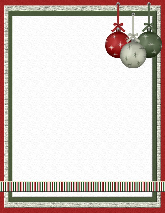 Microsoft Word Christmas Border Templates Free | Christmaswalls.co