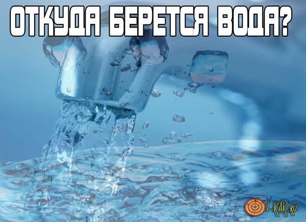 Откуда берется вода? Источники появления морской и пресной ...