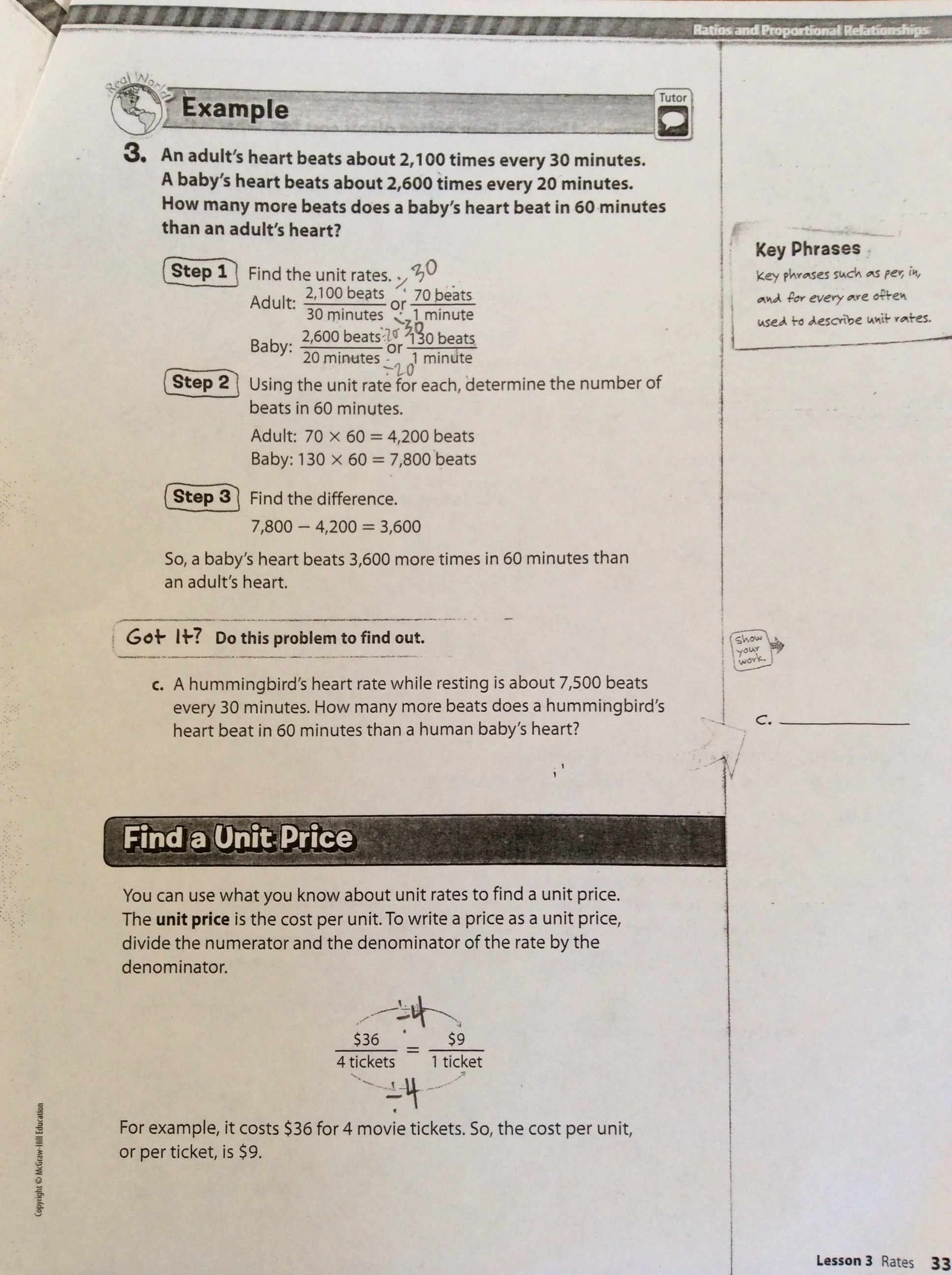 Unit Price Worksheet Middle School Unit Best Free