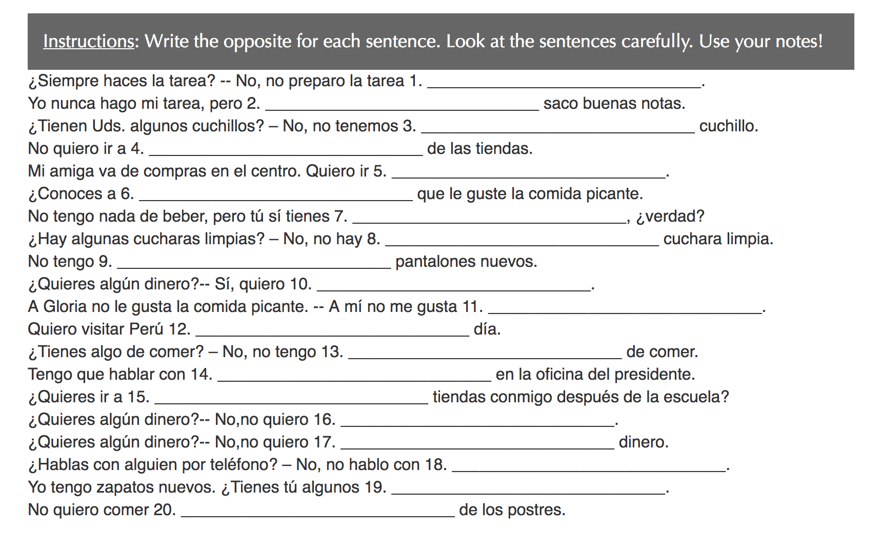 Grammar Worksheet Ser Vs Estar 1 Conjuguemos Answers