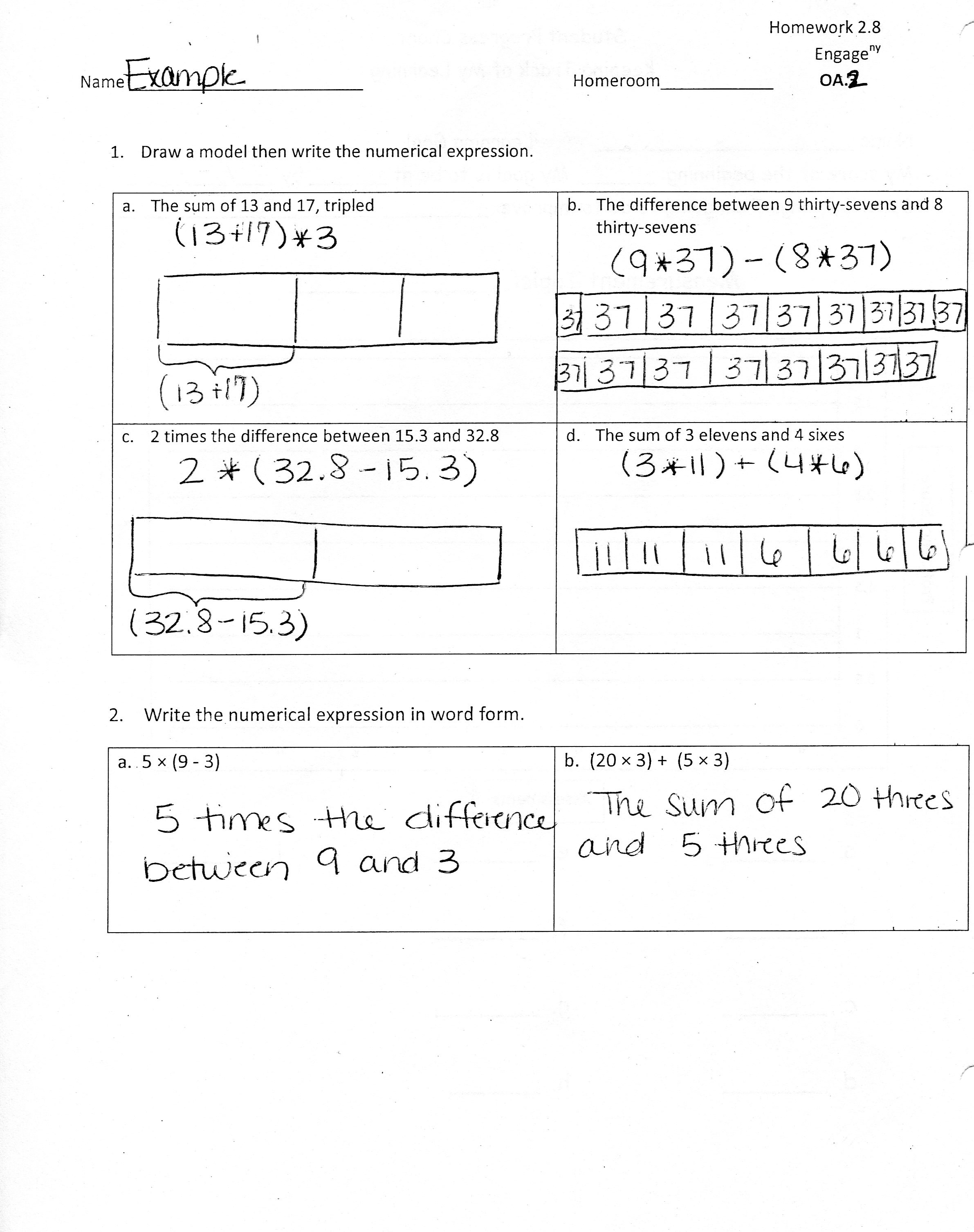Eureka Math Lesson 11 Homework 5 1