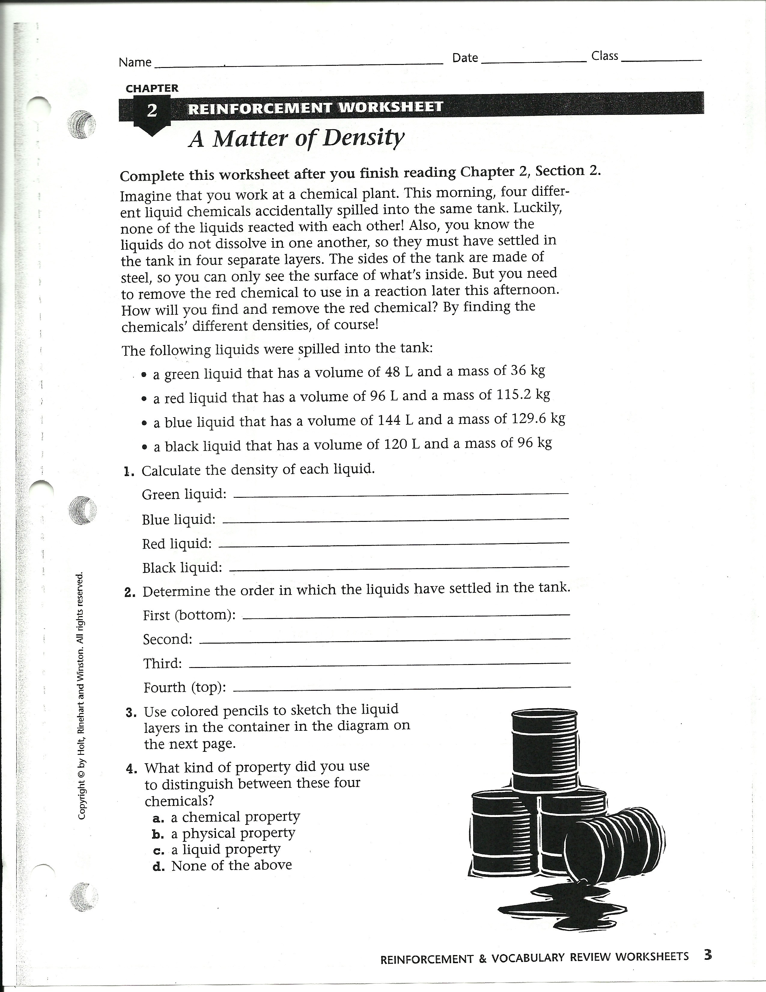 Properties Of Atoms And The Periodic Table Worksheet