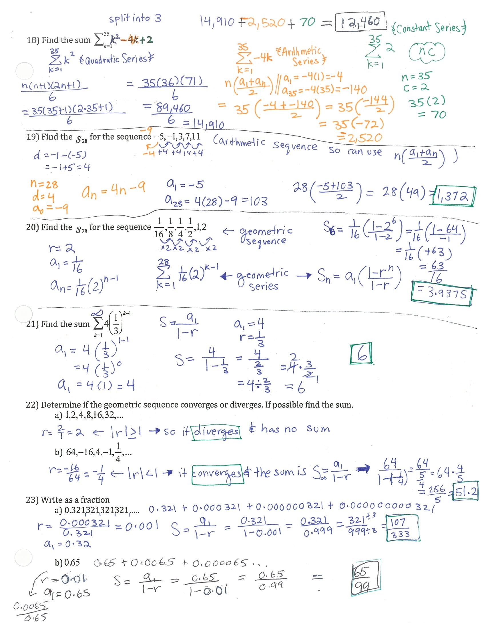 9 2 Study Guide And Intervention Solving Quadratic Equations By Graphing Answers