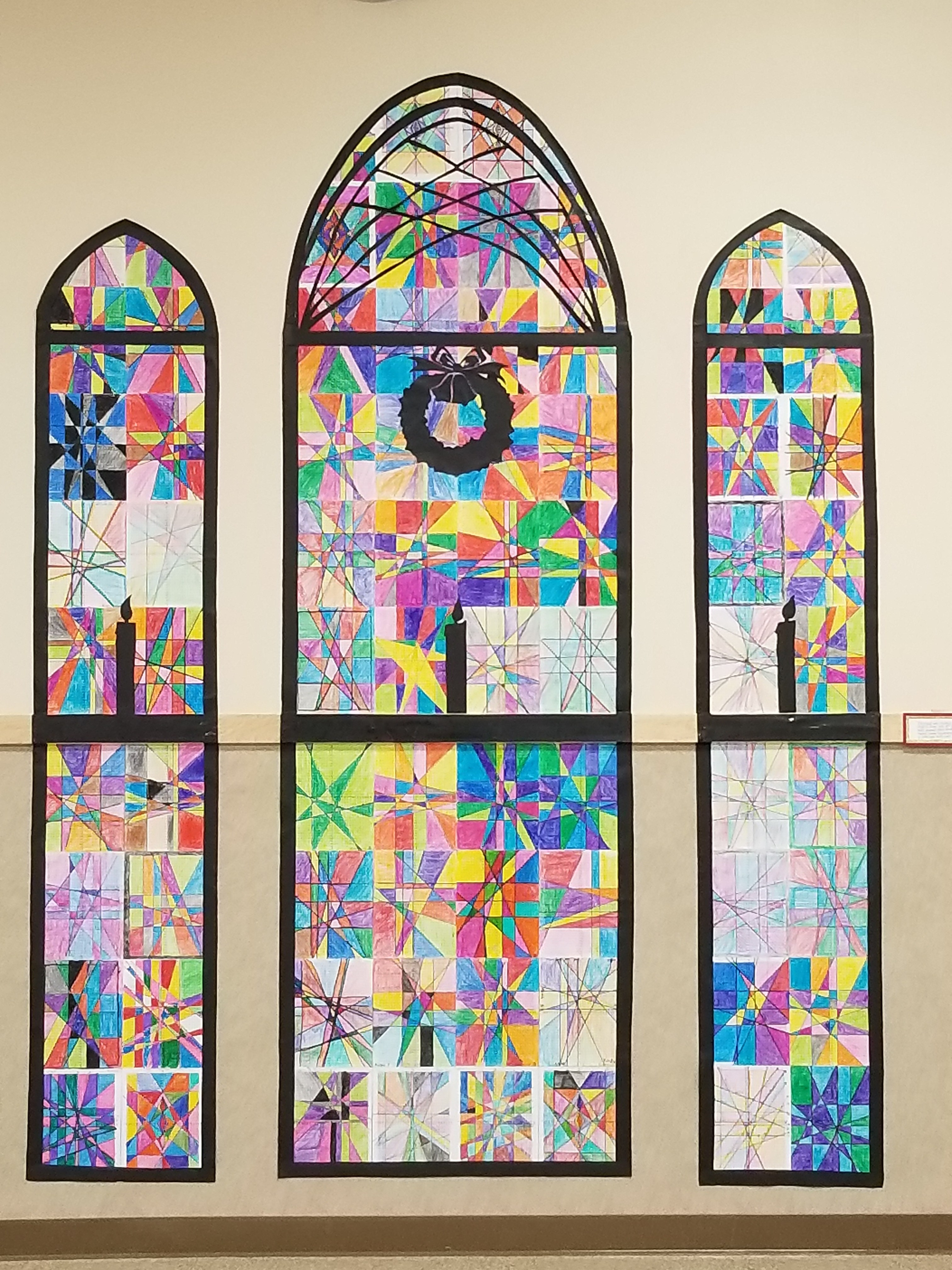 Stained Glass Slope Graphing Linear Equations