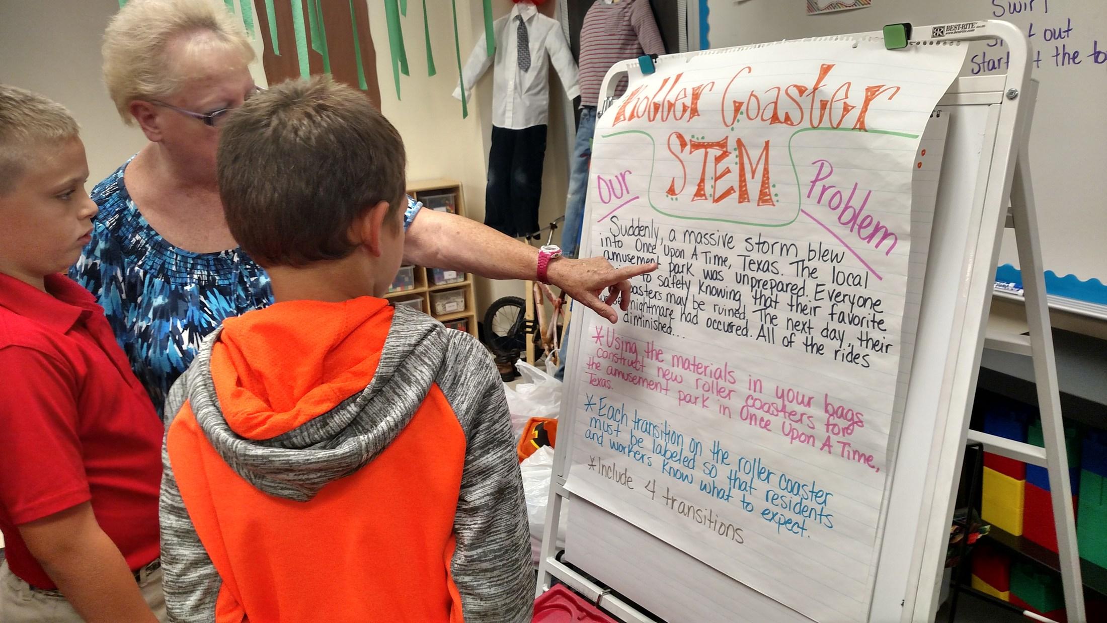 Stem Initiative At Joe Wright Stem Joe Wright Elementary