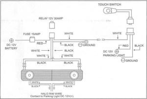 Mustang Grille w GTStyle Angel Eye Fog Lights  ('05'09 V6)  Installation Instructions