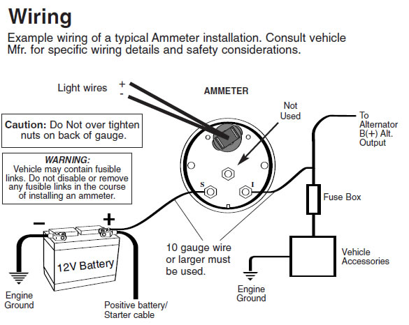 auto meter wiring diagram water temp  chevy k1500 wiring