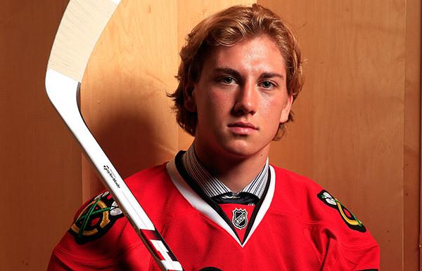 Chicago Blackhawks prospect John Hayden