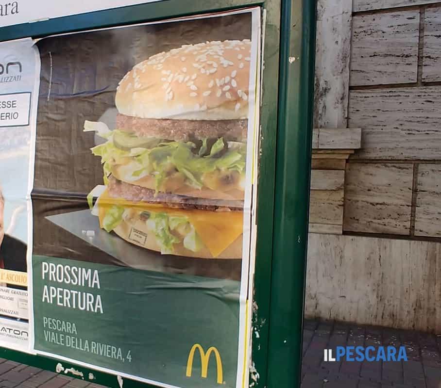 Nuovo Mcdonalds Sulla Riviera Di Pescara 50 Posti Di