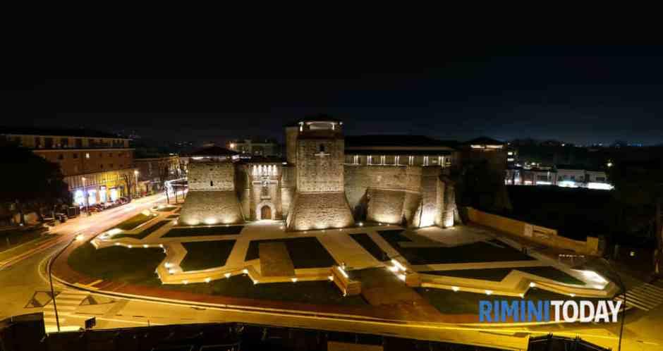 Castelo Sigismondo Malatesta, centro histórico de Rimini