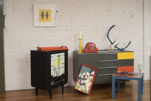 Think Contemporary Upcycled Furnishings