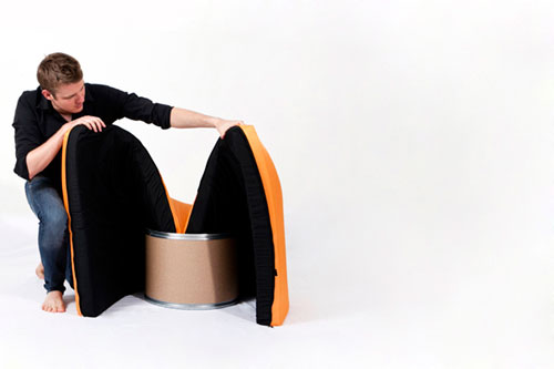 paq chair: The Worlds Simplest Armchair
