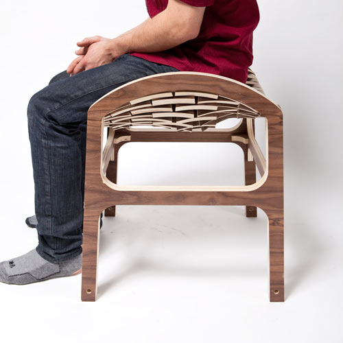 Caterpillar Stool by Hyeonil Jeong