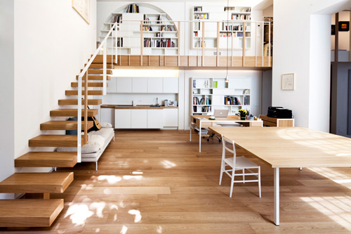 T House in Milan by Takane Ezoe and Modourbano in interior design  Category
